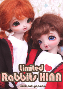[Limited] Rabbits ♥ HINA